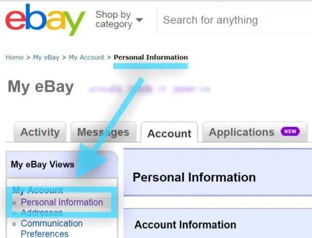 ebay 身元 確認