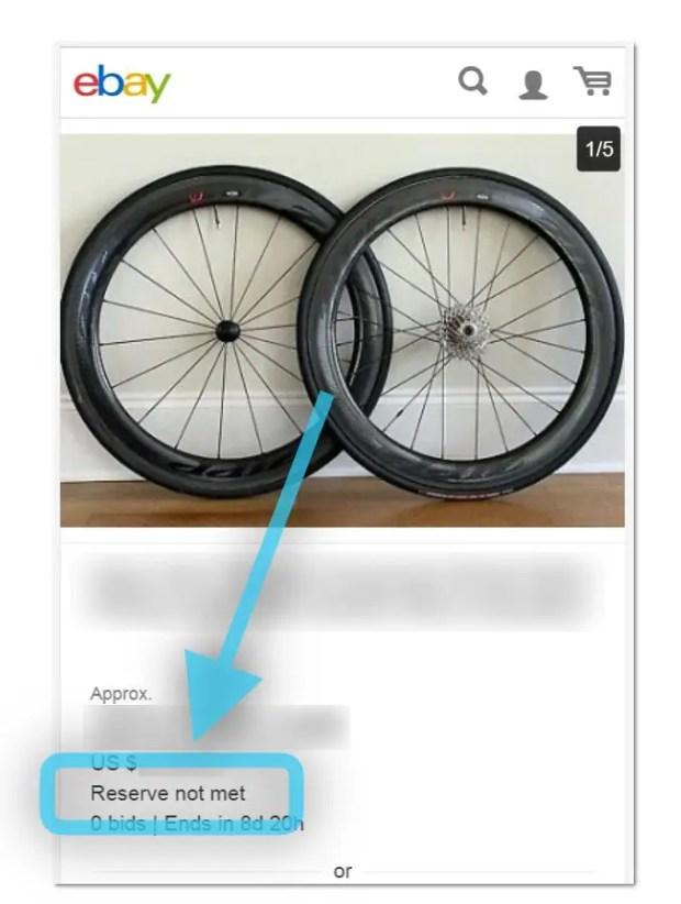 ebay starting bid