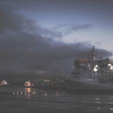 dusk over the port_0004