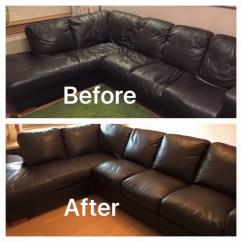 How To Clean Leather Sofas Corner Sofa Oak Furniture Land Makeover In Glasgow, Edinburgh, Central Scotland ...