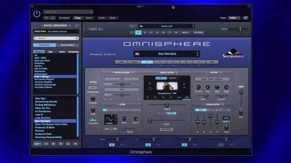 Omnisphere: Creating An Organic Pad