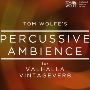 Percussive Ambience for Valhalla VintageVerb