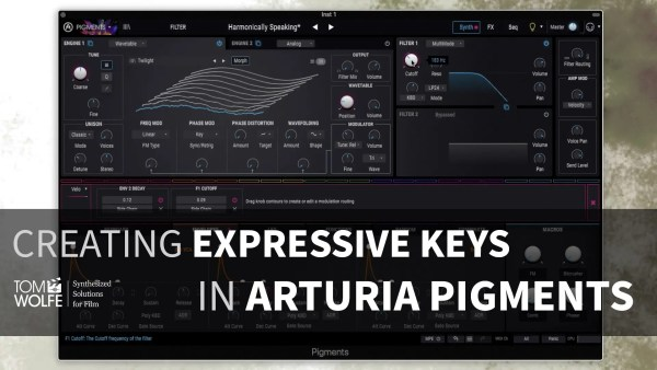 Arturia Pigments: How To Create Expressive Keys Tutorial