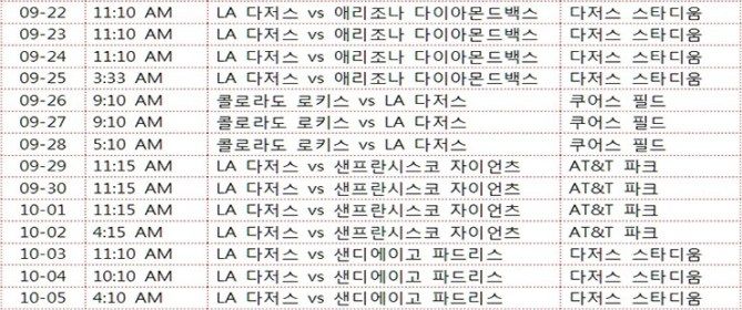 Ryu-HyunJin-and-LA-Dodgers-Match-Schedule-08