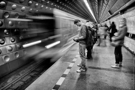 Čekání na metro