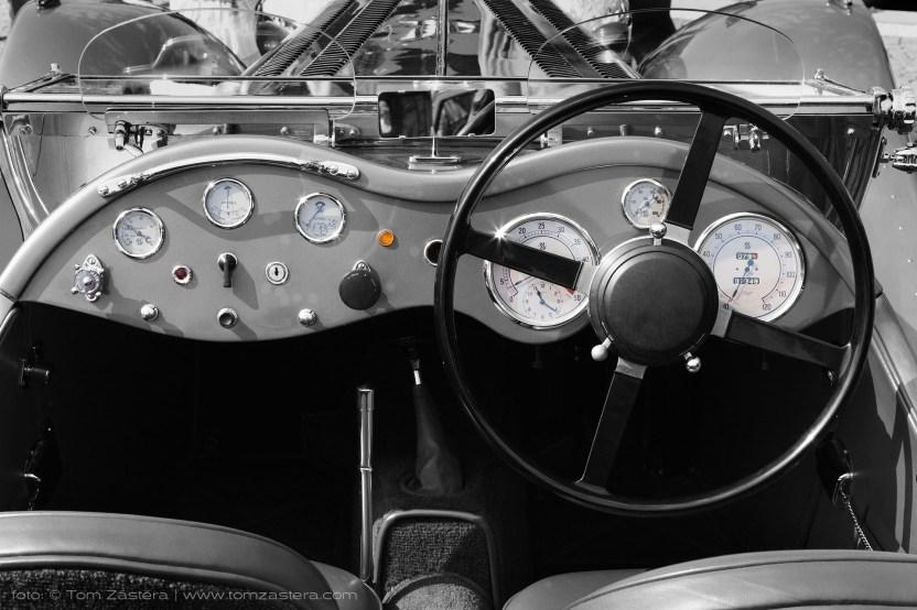 Palubní deska SS Jaguar 100