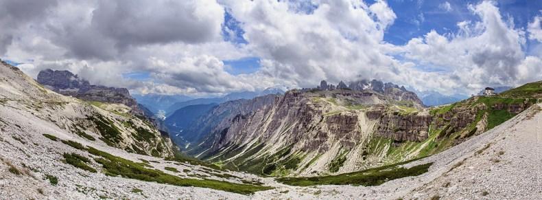 Dolomity panorama č. 2