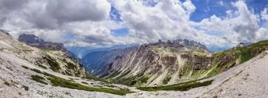 Dolomity panorama č. 1
