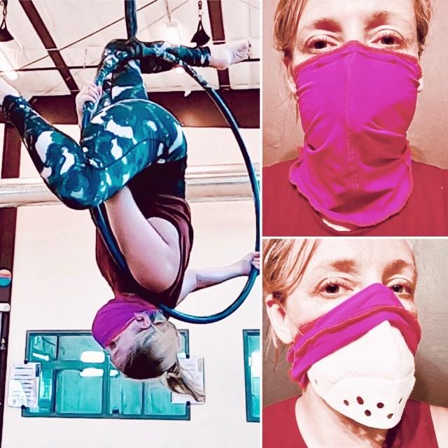 Active Roomy mask