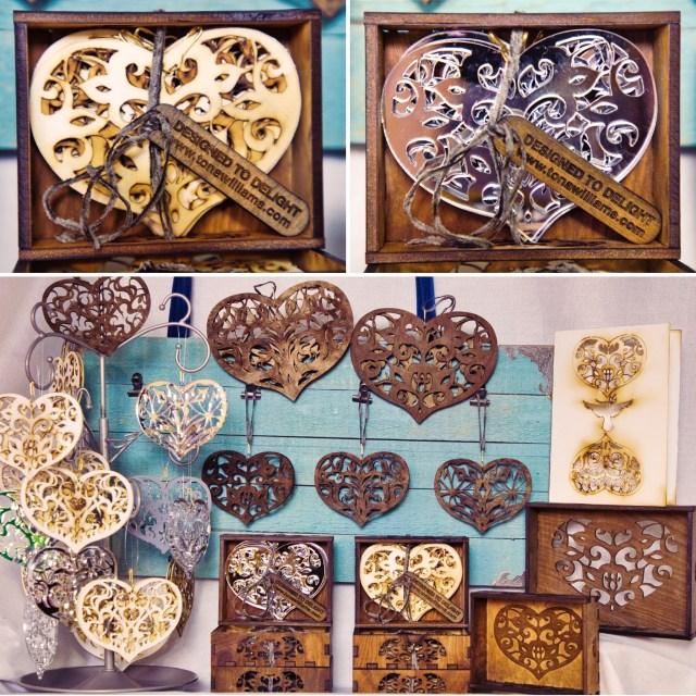 Heart Ornaments by Tona Williams