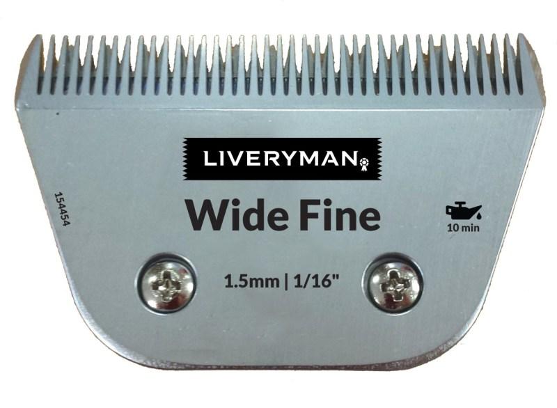 Peigne Liveryman 1.5 mm