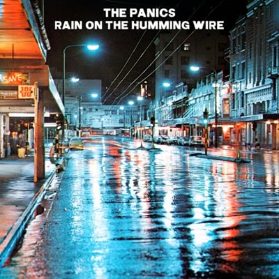 rain on the humming wire cover