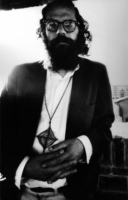 Allen Ginsberg, San Francisco, 1965: scatto di Ettore Sottsass