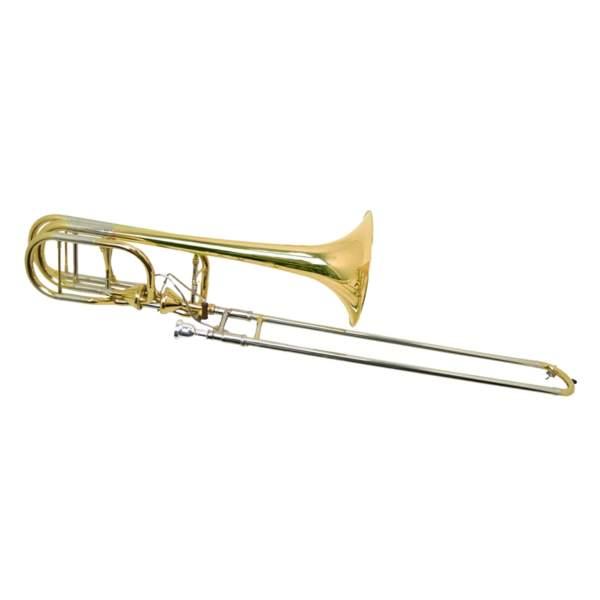Produktbillede af en bastrombone med hvid baggrund