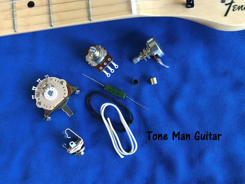 Upgrade Guitar Wiring Kit K40y Pio Russian Tone Cap Switch 5 Way