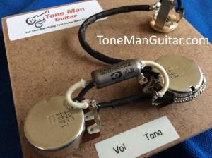 Les Paul Jr Gibson prebuilt wiring harness kit