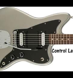 fender standard jazzmaster prewired wiring harness kit 2 controls 3 way switch pio tone cap [ 2099 x 1500 Pixel ]