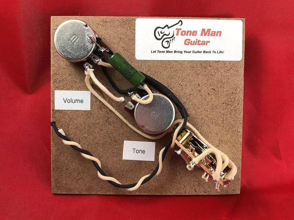 medium resolution of reverse control fender telecaster wiring harness 3 way switch pio vintage tone cap bourns pots vintage cloth wiring