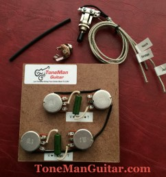 gibson epiphone upgrade wiring kit pio tone caps rh tonemanguitar com les paul wiring harness upgrade les paul wiring harness diagram [ 3413 x 2560 Pixel ]