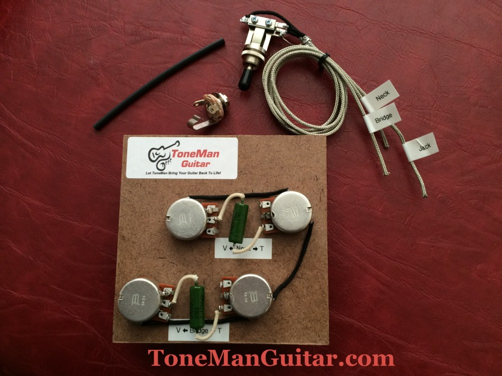 medium resolution of gibson epiphone upgrade wiring kit pio tone caps rh tonemanguitar com les paul wiring harness upgrade les paul wiring harness diagram
