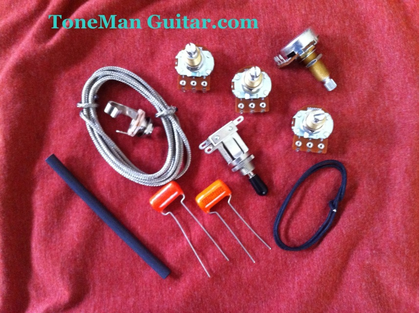 Es 335 Pots Switch Wiring Kit For Gibson Guitar Complete With Diagram