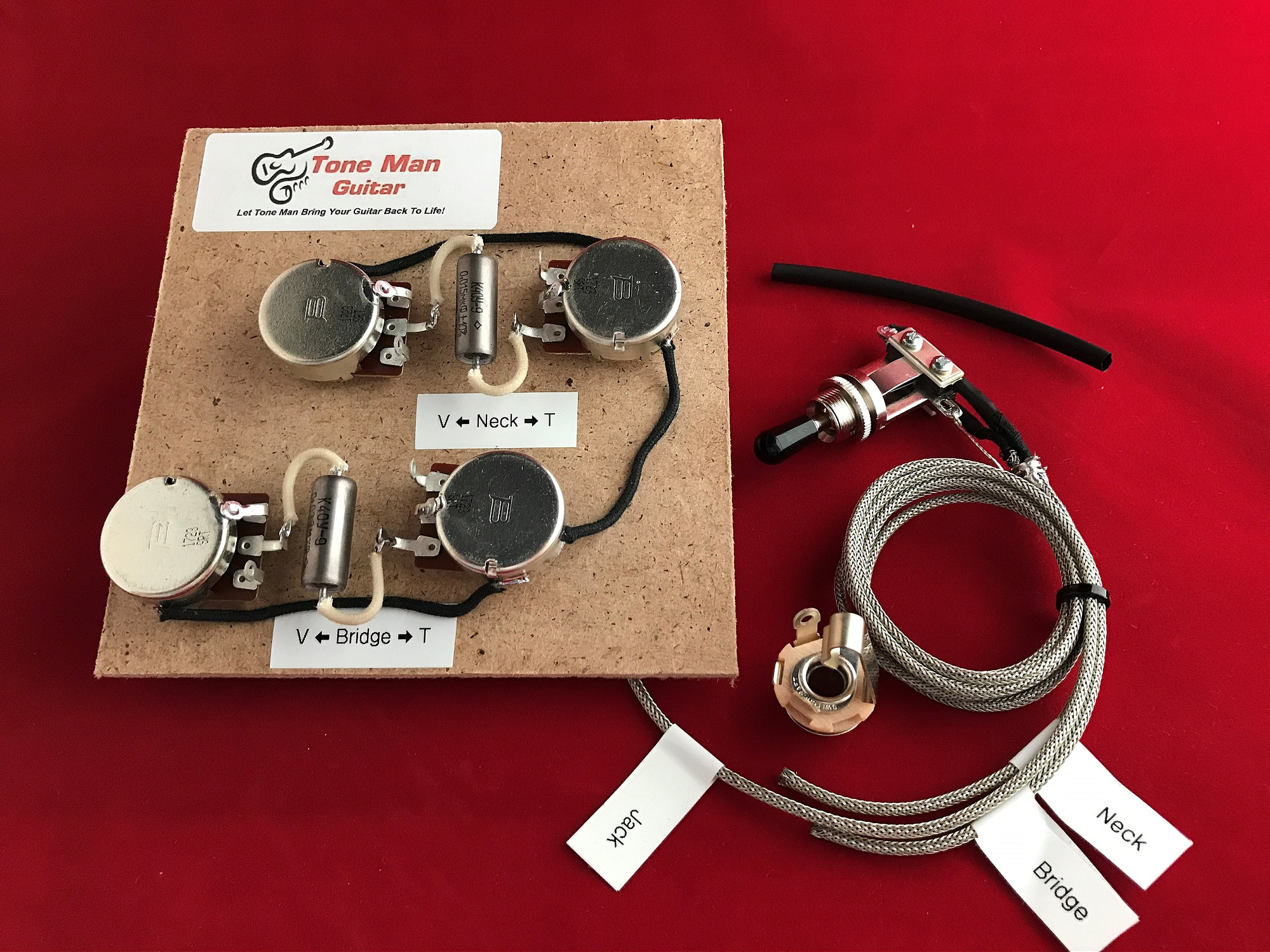 hight resolution of gibson le paul prewired 50 wiring harnes long shaft