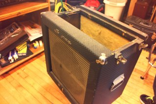 Again with the Ampeg fliptop