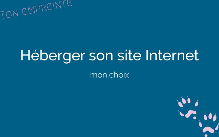 Où héberger son site Internet - ton empreinte