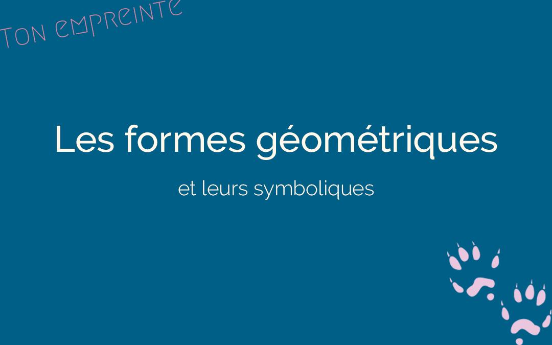 Les formes géométriques dans un logo