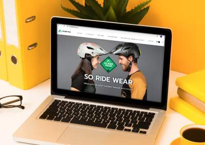 Site Internet – So Ride Wear