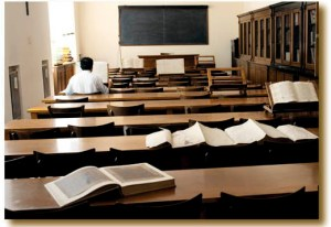 Esami di maturità aula