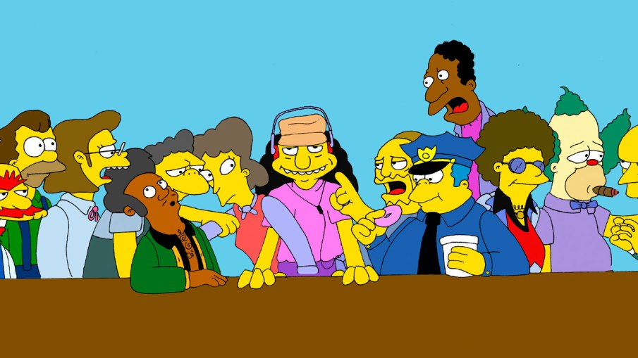 Simpson springfield last supper