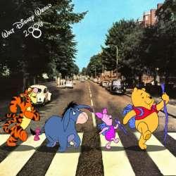 31102012: Abbey Road Winnie Pooh