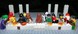 09112012: Ultima cena Lego