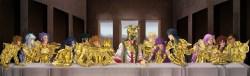 14122012: Ultima cena I cavalieri dello zodiaco