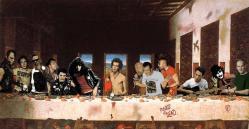 15022013: Ultima cena miti punk