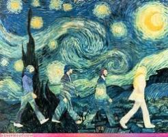 Abbey Road Van Gogh