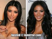 Kim Kardashian & Nicole Scherzinger