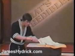 23092013: State attenti ai poteri di James Hydrick
