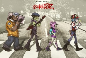 gorillaz_on_abbey_road_by_eddieholly-d50dbc9