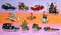 26112013: Pubblicità geniali Peugeot e le Wacky races