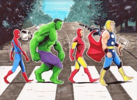 Stan Lee Abbey road