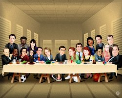 michael-scotts-last-supper-the-office