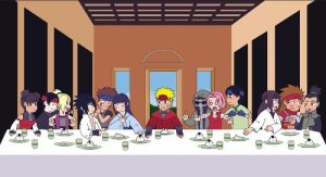 Naruto Shippuden The Last Supper of Konoha by m2cool