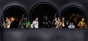 Star Wars by HeroforPain