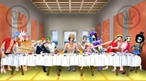 Ultima cena parodia: One piece