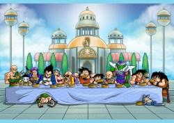 02122016: Ultima cena parodia Dragon Ball
