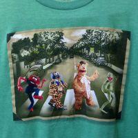 muppets-beatles-abbey-road-green-t-shirt-large-disney-kermit-fozzie-animal-gonzo-d2ea81cf2ba3a21220370f53e69953ed