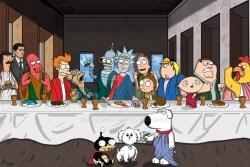 12052017: Ultima cena parodia Serie Fox di animazione