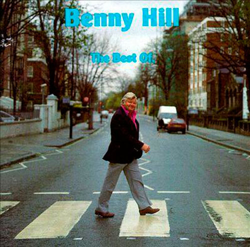 abbey road parody Benny Hill